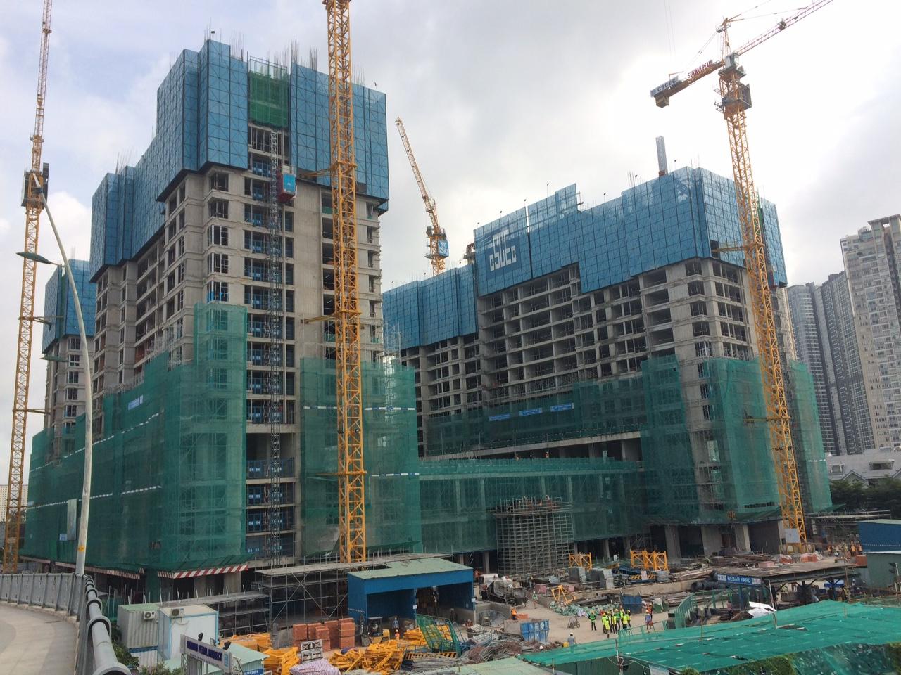 [Tháng 07/2018] Cập nhật tiến độ dự án Sunwah Pearl