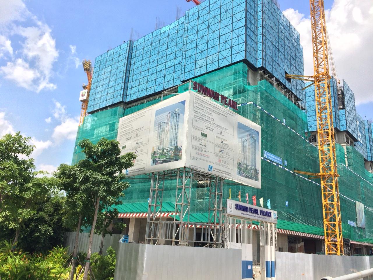 [Tháng 06/2018] Cập nhật tiến độ dự án Sunwah Pearl