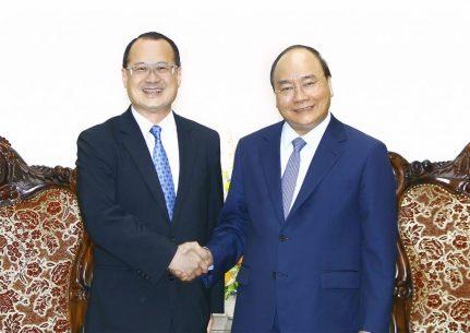 Thủ tướng tiếp Chủ tịch Phòng Thương mại Hồng Kông – Việt Nam