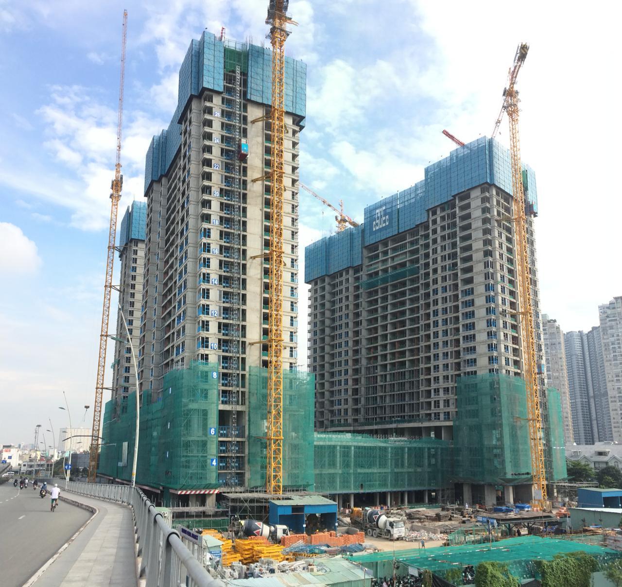 [Tháng 09/2018] Cập nhật tiến độ dự án Sunwah Pearl